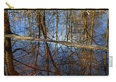 In The Wetland 3 Carry-all Pouch by Mary Bedy