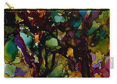 In The Woods Carry-all Pouch by Alika Kumar