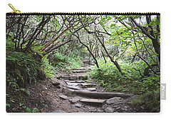 Carry-all Pouch featuring the photograph The Enchanted Forest Path by Gary Smith