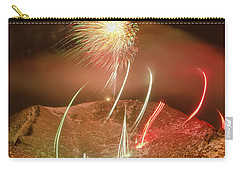 Inaugurating The New Year The Colorado Style At 14115 Feet, 4302 Meters, Above Sea Level Carry-all Pouch