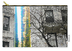 Carry-all Pouch featuring the mixed media Inbetween  by Tony Rubino