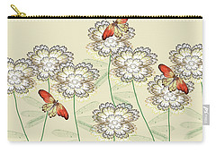 Incendia Flower Garden Carry-all Pouch