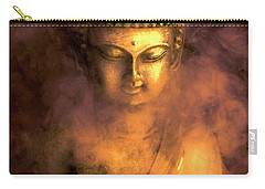 Carry-all Pouch featuring the photograph Incense Buddha by Daniel Hagerman