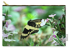 Incoming Butterfly Carry-all Pouch
