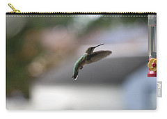 Carry-all Pouch featuring the photograph Incoming by Living Color Photography Lorraine Lynch