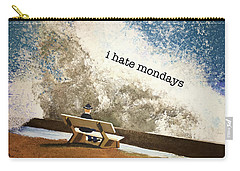 Incoming - Mondays Carry-all Pouch by Thomas Blood