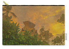 Incoming Storm On Playa Diamante Acapulco Carry-all Pouch