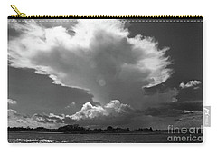 Incoming Storm Over Barnegat Bay Bw Carry-all Pouch
