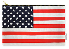 Independence Day Large Scale Oil On Canvas Original Landscape American Flag United States Flag Carry-all Pouch