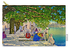 India Silk Merchants 1920 Carry-all Pouch by Padre Art