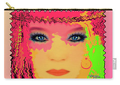 Carry-all Pouch featuring the photograph Indian #193 by Barbara Tristan