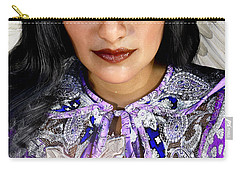 Indian Angel Carry-all Pouch by Suzanne Silvir
