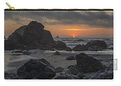 Indian Beach Sunset Carry-all Pouch