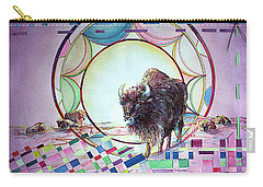 Indian Buffalo Circle Carry-all Pouch