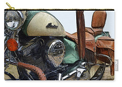 Indian Chief Vintage L Carry-all Pouch