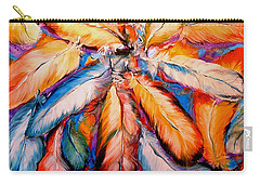 Indian Feathers 2006 Carry-all Pouch