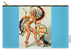 Indian Girl - Birthday Celebration Carry-all Pouch