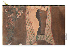 Indian Lady After Swim Carry-all Pouch by Vikram Singh
