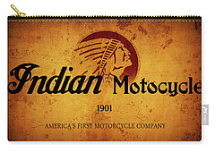 Indian Motocycle 1901 - America's First Motorcycle Company Carry-all Pouch