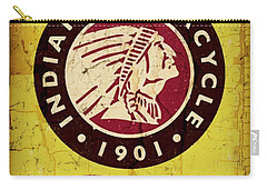Indian Motorcycle Sign 1901 Carry-all Pouch
