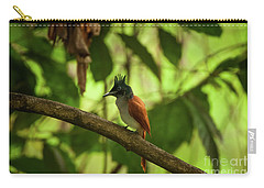 Indian Paradise Flycatcher Carry-all Pouch