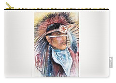 Indian Portrait Carry-all Pouch