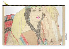 Indian Princess At Fair Carry-all Pouch
