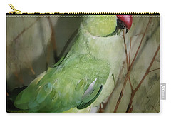 Indian Ringneck Parrot Carry-all Pouch