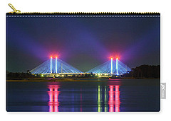 Carry-all Pouch featuring the photograph Indian River Inlet Bridge by Rob Sellers