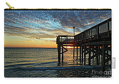 Indian Rocks Sunset Carry-all Pouch by Paul Mashburn