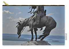 Indian Statue Infinity Pool Carry-all Pouch