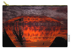 Carry-all Pouch featuring the photograph Indian Summer Sunrise by Joyce Dickens