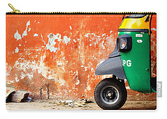 Indian Tuk Tuk Carry-all Pouch