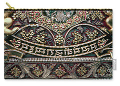 Carry-all Pouch featuring the photograph Indian Wall Hanging by Granger