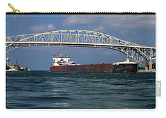 Indiana Harbor And Blue Water Bridge Carry-all Pouch