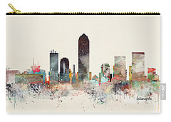 Indianapolis City Skyline Carry-all Pouch