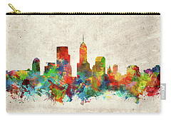 Indianapolis Skyline Watercolor 2 Carry-all Pouch