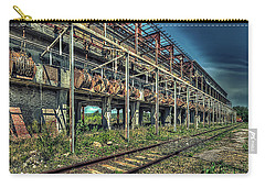Industrial Archeology Railway Silos - Archeologia Industriale Silos Ferrovia Carry-all Pouch
