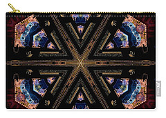 Industrial Grunge 2 Carry-all Pouch by Lori Kingston