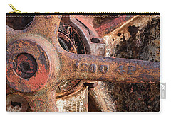 Industrial Patina Carry-all Pouch