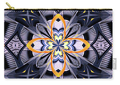 Industrial Provence Carry-all Pouch by Lori Kingston