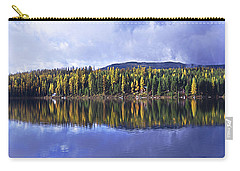 Carry-all Pouch featuring the photograph Inez Lake Montana by Janie Johnson