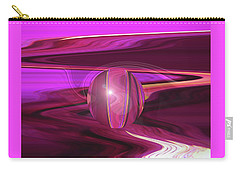 Infinity And Beyond - Abstract Iris Photography Carry-all Pouch