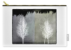 Infrared Trees With Texture Carry-all Pouch