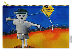 Inhalation Hazard Carry-all Pouch by Jean Cormier