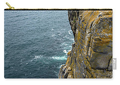 Carry-all Pouch featuring the photograph Inishmore Cliff And Dun Aengus  by RicardMN Photography