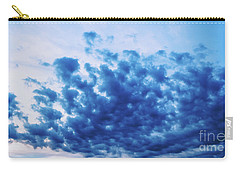 Carry-all Pouch featuring the photograph Ink Blot Sky by Colleen Kammerer