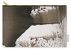 Ink Coral Carry-all Pouch by Nancy Kane Chapman