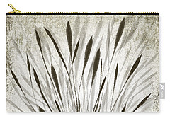 Carry-all Pouch featuring the drawing Ink Grass by Ivana Westin