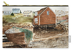 Inlet At Peggy's Cove Carry-all Pouch